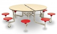 9SRL608 table ROUND PLAIN