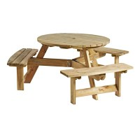 King-6-Round-Picnic-Table