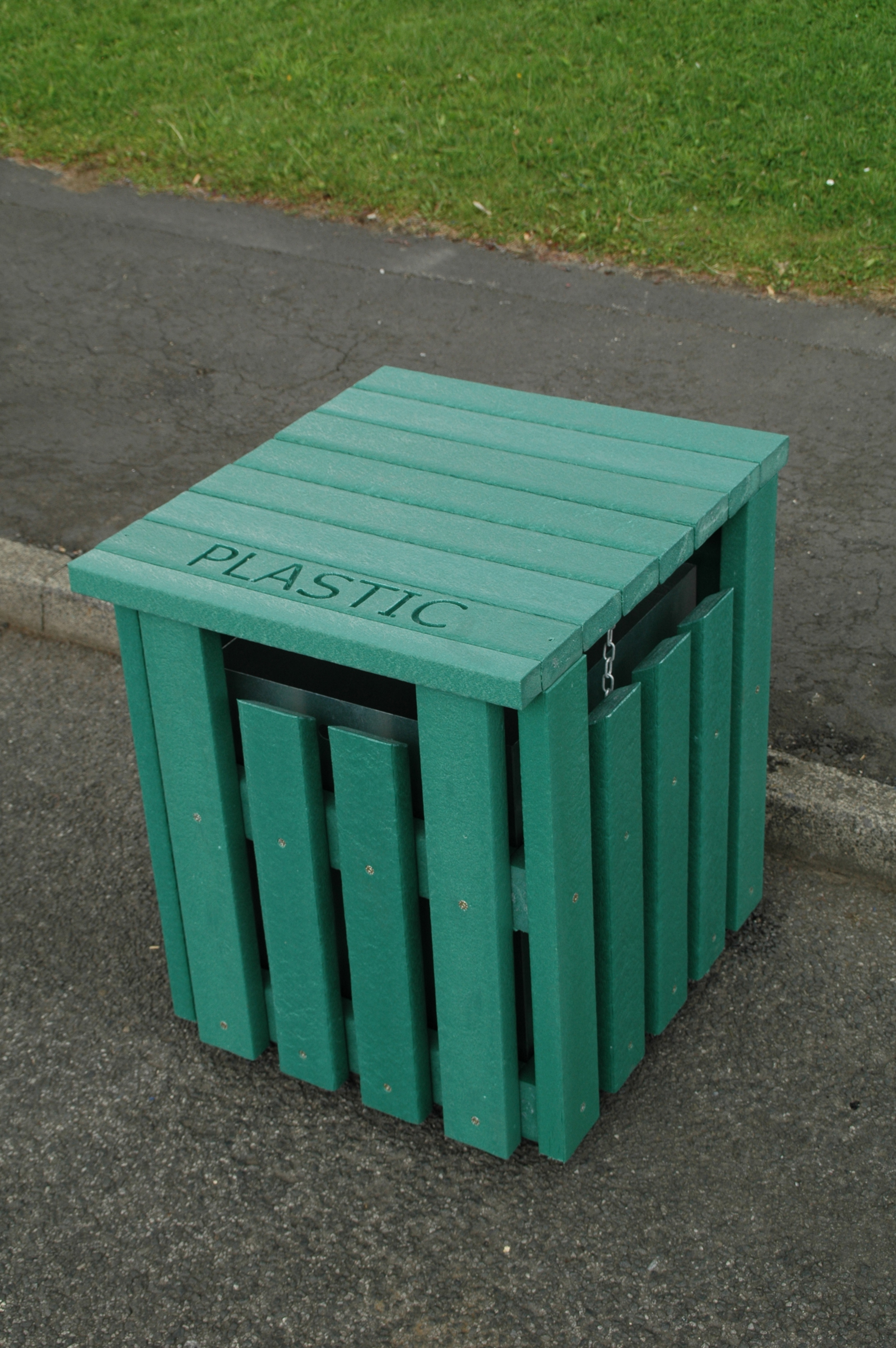 RecyclingBin-Green